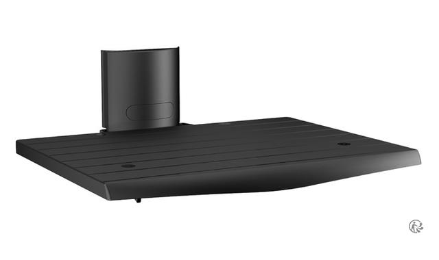meliconi support mural fixe en m tal et tablette en abs pas cher achat vente support mural. Black Bedroom Furniture Sets. Home Design Ideas
