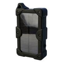 THINK XTRA - Batterie externe solaire 7800 mAh - Noir