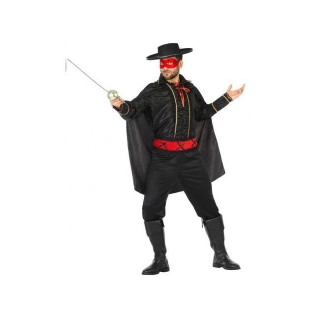 Déguisement pour homme masqué Costume zorro pas cher