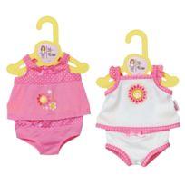 Zapf Creation - 870235 Dolly Moda sous-vêtements pour poupon de 38 à 46 cm - 1 pc