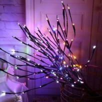 De Jardin Branche Florales Décoration Saule Batterie Exploité Guirlande Fête Noël Maison Led Vacances D'anniversaire Cadeaux Lampe Lumières dBeorCx