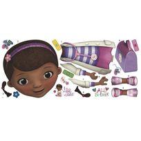 Roommates - Stickers géant Docteur la Peluche Disney Junior