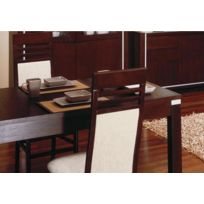 House and Garden - Table A Manger S4 Finition Wenge 77x127-200x87