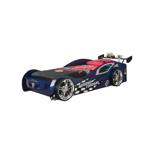 Vipack Funbeds Lit voiture Grand Turismo bleu