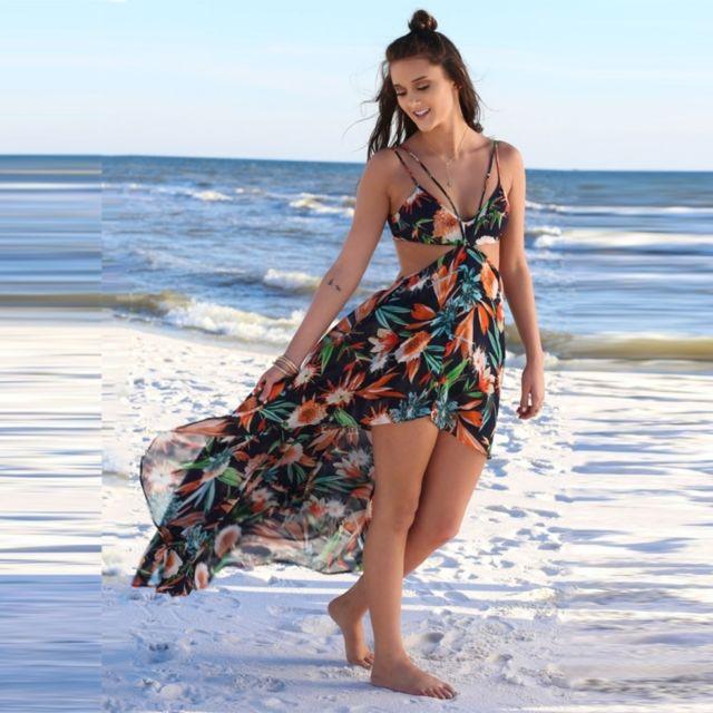95cc794b60 robe-femme-orange-et-noir-femmes-mode-ete-elegant -boheme-fleur-impression.jpg