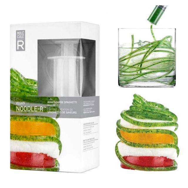 Touslescadeaux Kit Coffret de Cuisine Moléculaire - Spaghettis de Saveurs - avec Recettes