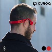 Totalcadeau - Écouteurs sans fils pour sportifs bluetooth casque audio Couleur - Noir