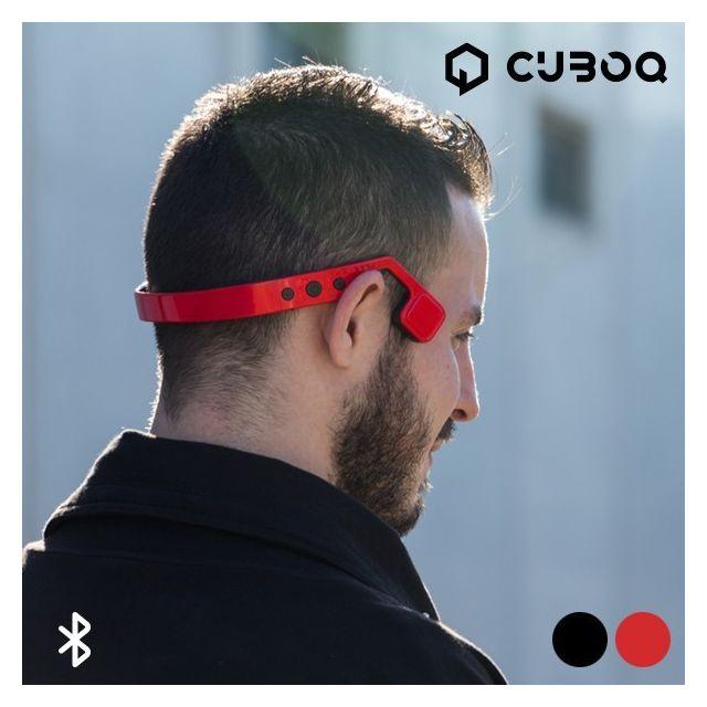 Totalcadeau Écouteurs sans fils pour sportifs bluetooth casque audio Couleur - Rouge