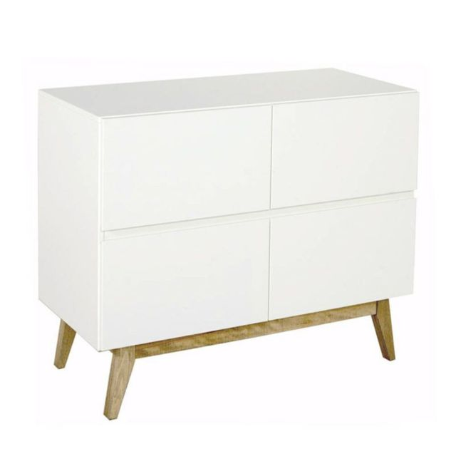 Quax Commode Trendy 4 tiroirs - Blanc