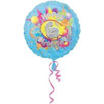 ToyCentre - Amscan Cool Kidz PailletÉ Holographique 6E Birthday Foil Balloon