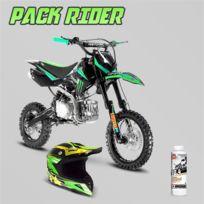 Pack Rider Dirt Bike Sx 150cc 12 14 Monster Casque Cross Huile 10w40