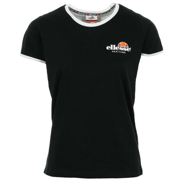 ba6ca3c13f Ellesse - T-shirt Femme Tmc Col Rond Uni - pas cher Achat / Vente ...