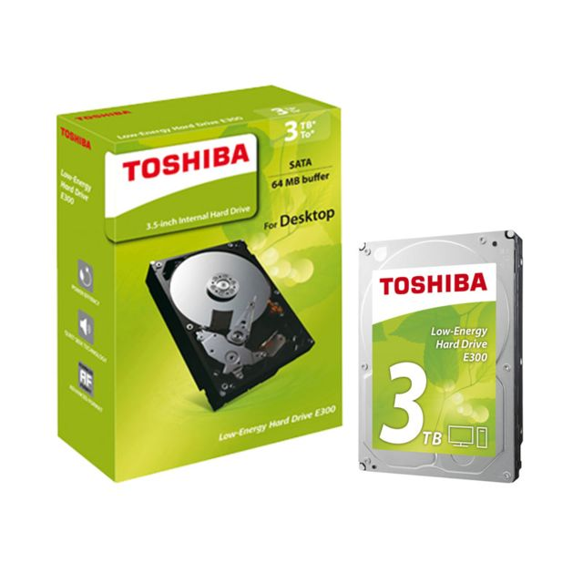 TOSHIBA - E300 3 To