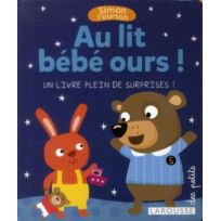 Larousse - Simon l'ourson ; au lit bébé ours