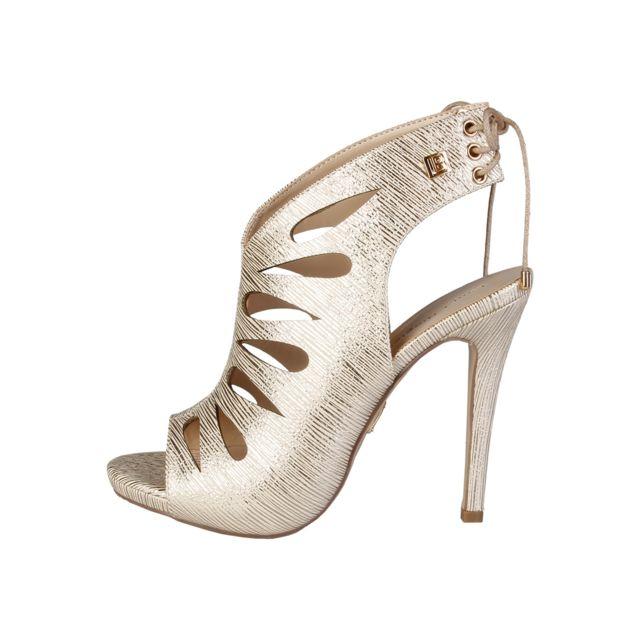 Buzzao - Sandales à talon couleur doré Nilary - Laura Biagiotti - pas cher  Achat   Vente Sandales et tongs femme - RueDuCommerce 5ade3ef5e20
