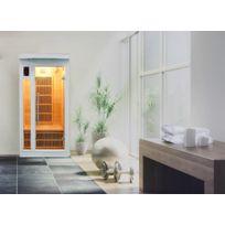 France Sauna - Sauna Infrarouge Soleil Blanc 1 Personne