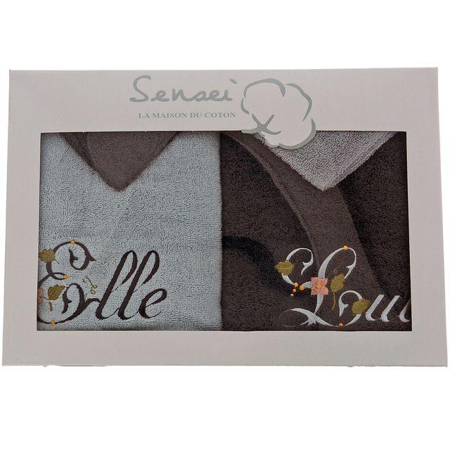 Extraordinaire Sensei - La Maison Du Coton - Coffret cadeau 2 serviettes 50x100 @NJ_15