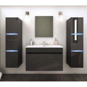 Ma Maison Mes Tendances Meuble de salle de bain simple vasque 80