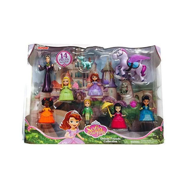 Disney Junior Sofia The First Deluxe Friends Collection 14 piece