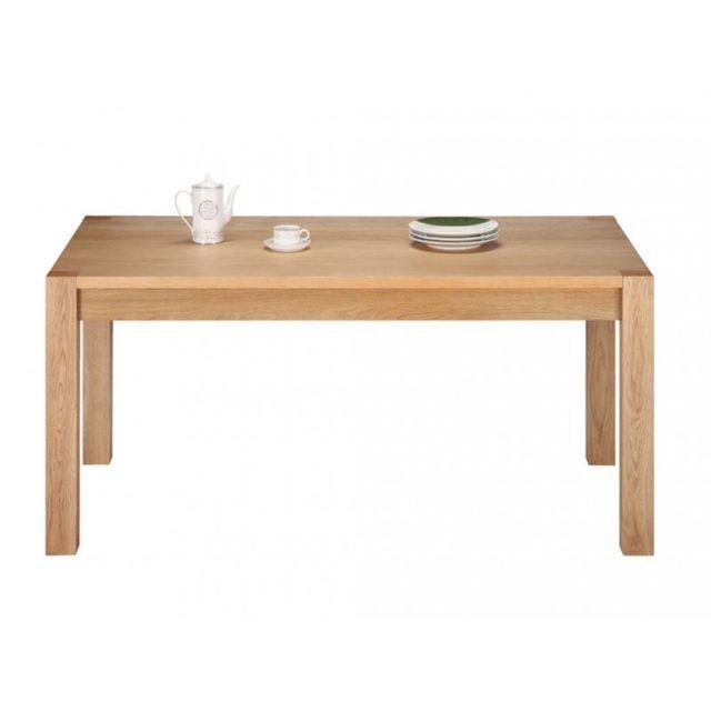Beaux Meubles Pas Chers Table Repas Chêne Clair 160 cm