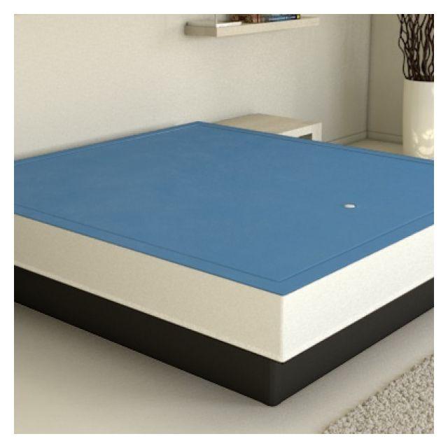 ATLANTIS Matelas à eau Mono sommier chauffage + accessoires inclus 100X200 cm