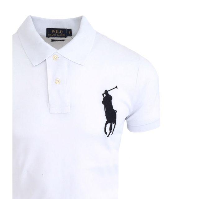 Ralph Lauren Polo Big Pony Polo Rl22 blanc pas cher