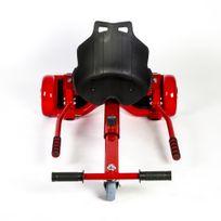 Gloofe - Pack Hoverboard + Hoverkart Rouge