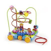 Viga Toys - 1603 - Circuit De Perles À Roulette - Ferme