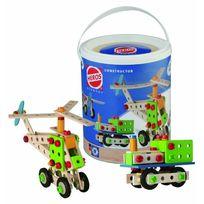 Simba Toys - 100039030 Heros - Jeu de Construction - Hélicoptère - 120 Pièces