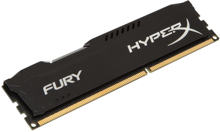 RAM DIMM Fury HX313C9FB/4 HyperX Noir