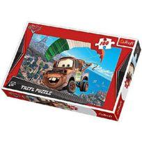 Trefl - Puzzle 100 pièces - Cars 2 : Martin s'envole