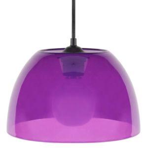 tosel suspension diam 25cm plastique rose pas cher achat vente suspensions lustres. Black Bedroom Furniture Sets. Home Design Ideas