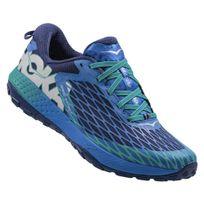 Hoka One One - Speed Instinct Bleue Et Verte Chaussures de trail