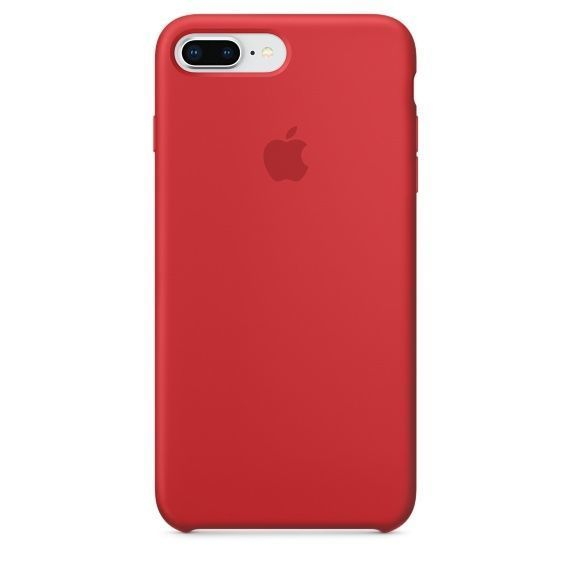 APPLE iPhone 8 Plus/7 Plus Silicone Case - PRODUCT, RED
