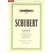Edition Peters - Partitions Classique Schubert Franz - Songs Vol 1 - Voice And Piano par 10 Minimum, Choeur Et Ensemble Vocal