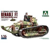 Takom - 1:16 - Renault Ft-17 Char Canon BERLIET Turret
