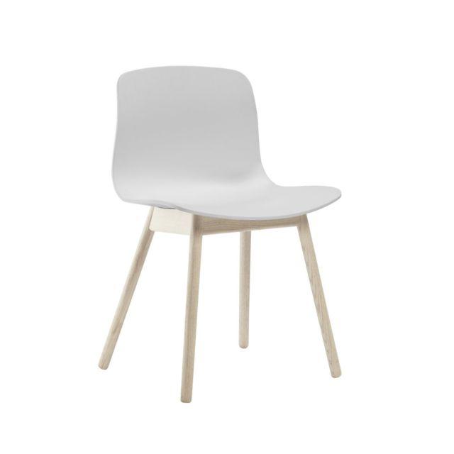 Hay About a Chair Aac 12 - chêne savonné - blanc