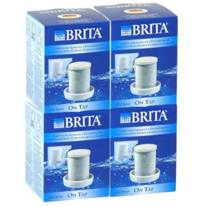 brita pack de 4 cartouches pour filtre sur robinet 1200l. Black Bedroom Furniture Sets. Home Design Ideas