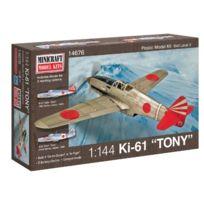 Minicraft - Ki-61 Tony Ija With 2 Marking Options Model Kit, 1/144 Scale