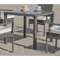 Hevea - Table de jardin 80x80 cm Mali