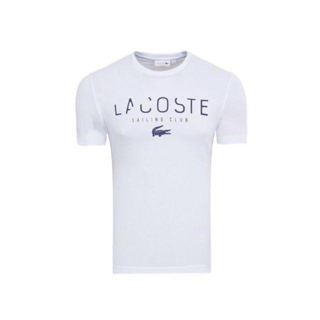 2b78c17d1ed8a Lacoste - T-shirt Homme - pas cher Achat / Vente Tee shirt homme -  RueDuCommerce