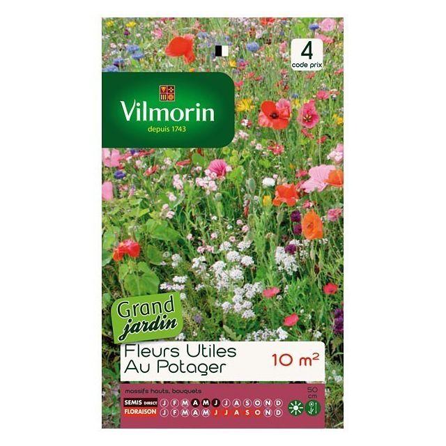 vilmorin sachet graines m langes de fleurs utiles au. Black Bedroom Furniture Sets. Home Design Ideas