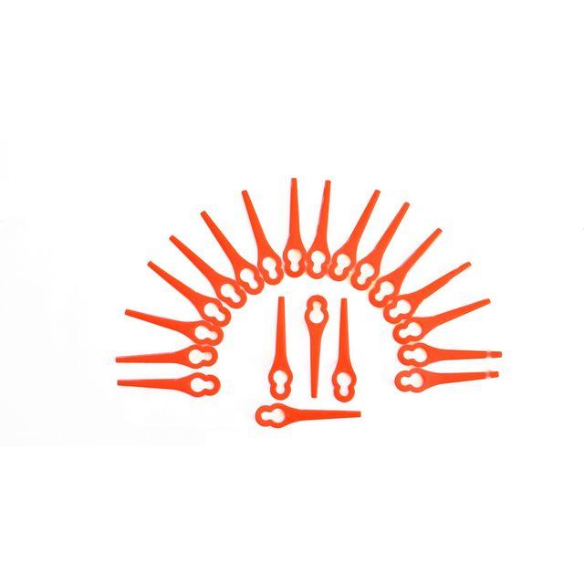 9x de rechange-Couteau Lames 0,75 mm pour Gardena r38li r40li r45li r50li r70li r75li