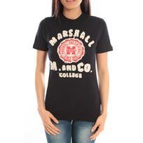 Sweet Company - T-shirt Marshall Original M and Co 2346 Noir