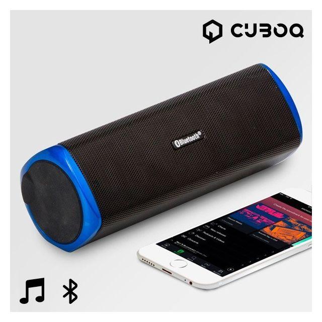 Totalcadeau Speaker Bluetooth avec chargeur - Enceinte son smartphone Bluetooth