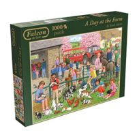 Diset - Puzzle 1000 pièces : A Day at the Farm