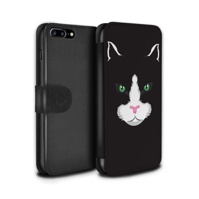 coque chat noir iphone 7