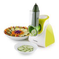 KLARSTEIN - Carrot & Rock Râpe électrique Râpe à légumes 150W 5 lames vert