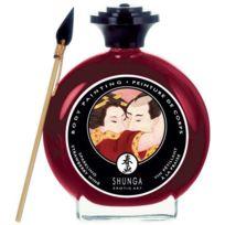 Shunga - Peinture pour le corps - Vin petillant fraise - 100ml