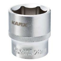Karx - Douille 6 pans 1/2 Cr-V 28 mm